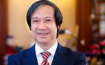 Tân Bộ trưởng Bộ GD-ĐT Nguyễn Kim Sơn gởi thư cho nhà giáo cả nước