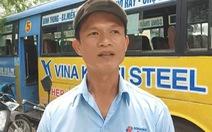 Tài xế xe buýt bị khống chế: 'Người gí dao bắt tôi đụng xe CSGT, nếu dừng xe sẽ đâm tôi'