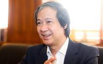 Bộ trưởng Nguyễn Kim Sơn: Sẽ có kế hoạch cụ thể cho 'Học thật, thi thật, nhân tài thật'