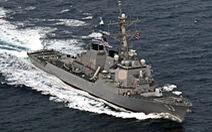 Tàu chiến Mỹ 'thách thức yêu sách hàng hải quá mức' của Ấn Độ