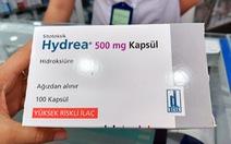 Thiếu thuốc điều trị ung thư máu