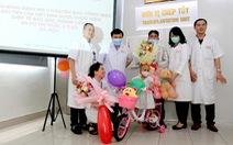 Bệnh nhi đầu tiên của Việt Nam được chữa khỏi u nguyên bào võng mạc nhờ ghép tế bào gốc