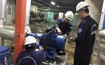 Thay thế đường ống rò rỉ ở 4 quận và TP Thủ Đức, nước gián đoạn hoặc yếu vào chủ nhật