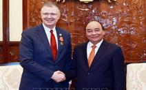 Chủ tịch nước Nguyễn Xuân Phúc nhận thư chúc mừng của Tổng thống Biden