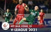 Kết quả, bảng xếp hạng V-League: Thanh Hóa bứt phá, Sài Gòn và Hà Tĩnh 'đứng yên'