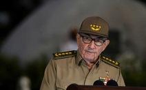 Đại tướng Raul Castro: Sẽ trao quyền lãnh đạo Đảng Cộng sản Cuba cho thế hệ trẻ