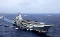 Tàu sân bay Trung Quốc tiến xuống phía nam Biển Đông