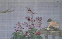 Tranh lụa đậm đà tính nữ của Hoàng Minh Hằng