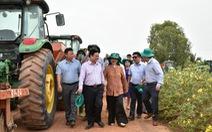 Tân Bộ trưởng Lê Minh Hoan thăm Nông trường Thành Long - Tây Ninh