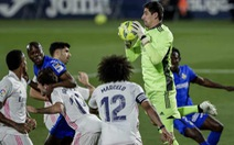 Real Madrid 'may mắn' chia điểm trước Getafe