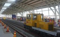 Chuẩn bị đóng điện ở trạm biến áp Bình Thái cho tuyến metro số 1