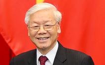 Chủ tịch Quốc hội: 'Tổng bí thư dành hết tâm sức cho sự phát triển của đất nước'