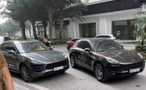 Tạm giữ 2 xe Porsche Macan trùng biển số 'chạm mặt' ở Hà Nội