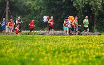 Cung đường chạy marathon đẹp như mơ tại Ecopark
