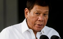 Bị 'chê' mềm mỏng với Bắc Kinh, tổng thống Philippines tuyên bố cử tàu chiến tới Biển Đông