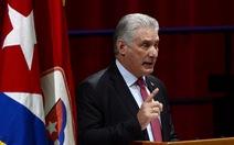 Ông Miguel Diaz-Canel làm tân lãnh đạo Cuba: 'Không từ bỏ các nguyên tắc cách mạng và CNXH'