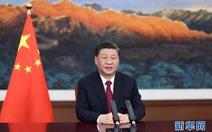 Ông Tập tuyên bố 'Trung Quốc mãi mãi không xưng bá, không bành trướng'