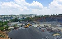 Mỏ khai thác đá hết hạn, doanh nghiệp vẫn tiếp tục… tận thu