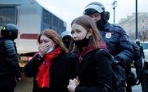 Nga bắt hơn 1.700 người biểu tình ủng hộ ông Alexei Navalny