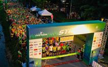Chạy marathon trên cung đường ngập sắc xanh ở đô thị Ecopark