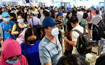 Sân bay nói 'xin - cho', bộ trả lời thế nào về chuyện ùn ứ ở Tân Sơn Nhất?