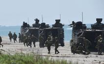 Nhật tập trận lớn cùng với Mỹ, Pháp để 'bảo vệ biển xa'