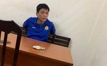Cảnh sát giao thông phóng mô tô bắt cướp trên phố cổ Hà Nội