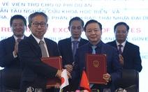 Nhật Bản viện trợ tàu nghiên cứu khoa học biển cho Việt Nam