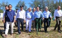 Bí thư Nguyễn Văn Nên dẫn chuyên gia thị sát, bàn chuyện phát triển Cần Giờ