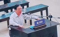 Cựu bộ trưởng Vũ Huy Hoàng lo ngại sức khỏe yếu, không đủ thời gian chấp hành án