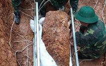 Hoàn tất di dời trái bom nặng 340kg ở Vĩnh Phúc