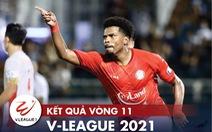 Kết quả, bảng xếp hạng V-League 2021: Viettel vào tốp đua vô địch, CLB TP.HCM còn ít hy vọng