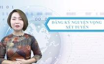 Video Bộ GD-ĐT hướng dẫn cách đăng ký xét tuyển trực tuyến