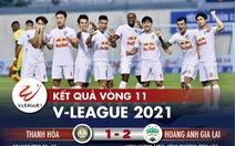 Kết quả, bảng xếp hạng V-League 2021: Hà Nội nhiều nguy cơ phải đá vòng trụ hạng