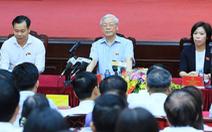 Tổng bí thư Nguyễn Phú Trọng thuộc đơn vị bầu cử Ba Đình, Đống Đa, Hai Bà Trưng