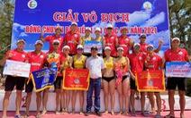 Giải Bóng chuyền bãi biển quốc gia 2021: Đội nam, nữ Sanvinest Khánh Hòa vô địch