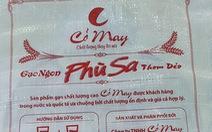 'Gạo Phù Sa' ở miền Tây bị làm giả nhãn hiệu ở Nghệ An