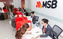 Lợi nhuận quý I/2021 của MSB tăng gấp 4 lần cùng kỳ