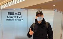 Thủ môn Đặng Văn Lâm nóng lòng gặp đồng đội sau khi đặt chân đến Nhật Bản