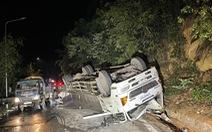 Xe tải tông chết 2 nữ sinh viên đi xe máy trên đèo Bảo Lộc