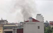 Lại cháy nhà dân trong ngõ trên phố Tôn Đức Thắng
