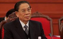 Vụ lật tàu ở Lào: Nguyên tổng bí thư Sayasone an toàn, vợ không may qua đời