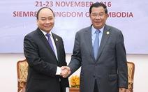 Thủ tướng Campuchia Hun Sen gửi thư chúc mừng tân Chủ tịch nước Nguyễn Xuân Phúc