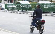 Singapore tính phạt tù người chạy xe đạp điện không thi lý thuyết