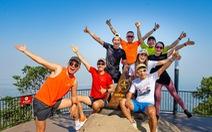 Hơn 3.000 người chinh phục cung đường marathon núi Bà Đen