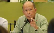 Vụ đá Ba Đầu: Philippines 'khẩu chiến' sứ quán Trung Quốc, nói gửi công hàm phản đối mỗi ngày