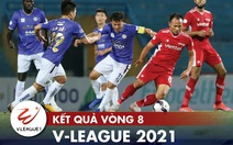 Kết quả, bảng xếp hạng V-League: Quảng Ninh tạm vượt mặt HAGL, CLB Sài Gòn 'đội sổ'