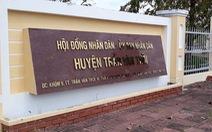 Chánh Thanh tra huyện Trần Văn Thời: không thi nhưng vẫn được cấp bằng