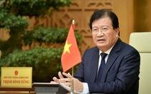 Trình Quốc hội miễn nhiệm Phó thủ tướng Trịnh Đình Dũng và một số bộ trưởng