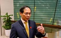 Tân Bộ trưởng Bộ Ngoại giao Bùi Thanh Sơn: 'Đột phá mở đường vào các thị trường khác nhau'